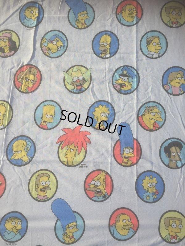 画像3: Vintage Simpsons Twin Flat Sheet (AL475)