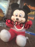 Vintage Disney Mickey Mouse Rubber Face Doll (AL493)