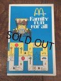 70s Vintage McDonalds Family Fun For all Booklet Big Mac (AL501)