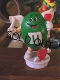 Vintage M&M's Figure Green (AL4140)