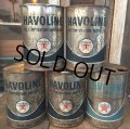 SALE! Vintage TEXACO HAVOLINE 1 Quart Motor Oil Can  (AL4244)