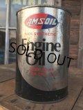 SALE! Vintage AMSOIL 1 Quart Engine Oil Can  (AL4206)
