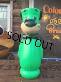 Vintage Huckleberry Hound Plastic Doll Green (AL552)