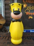 画像1: Vintage Huckleberry Hound Plastic Doll Yellow (AL553) (1)