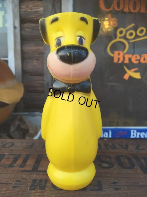 画像1: Vintage Huckleberry Hound Plastic Doll Yellow (AL553)
