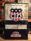 Vintage MFA OIL Metal Can 1GL (AL5744)