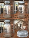 画像2: Vintage Atlas Mason Glass Jar (AL5984) (2)