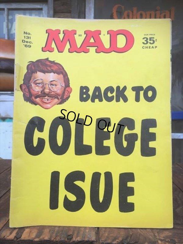 画像1: 60s Vintage MAD Magazine / No182 July '69 (AL591)