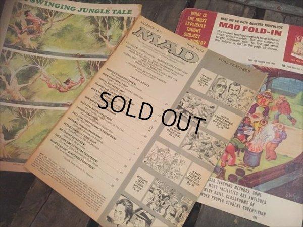 画像2: 70s Vintage MAD Magazine / No167 July '74 (AL593)