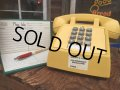 70s Vintage US Bell System Telephone Yellow (AL721)