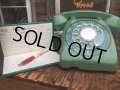 70s Vintage Automatic Electric Telephone Green (AL722)