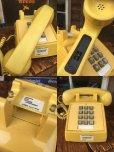 画像3: 70s Vintage US Bell System Telephone Yellow (AL721)  (3)