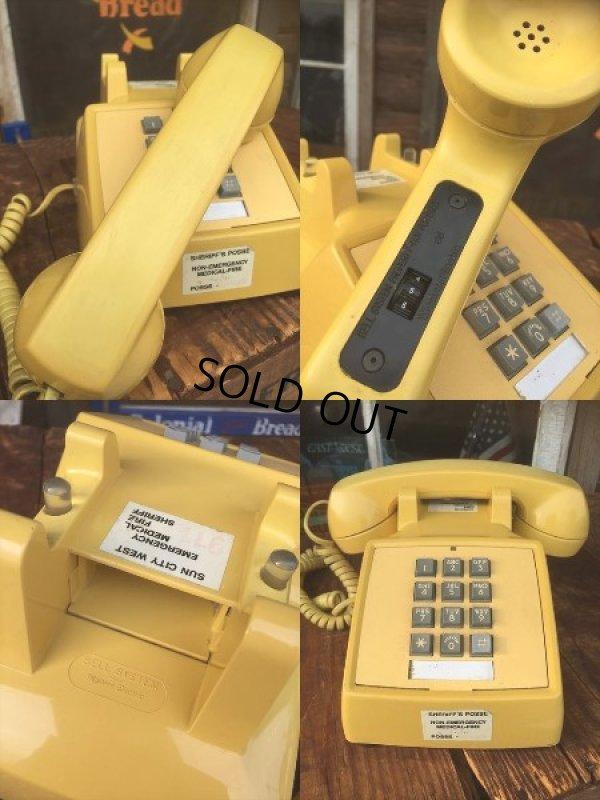 画像3: 70s Vintage US Bell System Telephone Yellow (AL721)