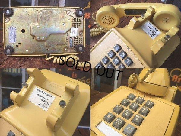 画像4: 70s Vintage US Bell System Telephone Yellow (AL721)