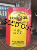 Vintage Pennzoil 5GL Motor Gas/Oil Can (AL423)
