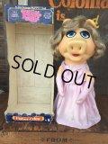 70s Vintage Muppet Show Miss Piggy Hand Puppet Doll w/box (AL731)