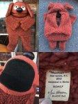 画像3: 70s Vintage Muppet Show Rowlf Hand Puppet Doll (AL733) (3)