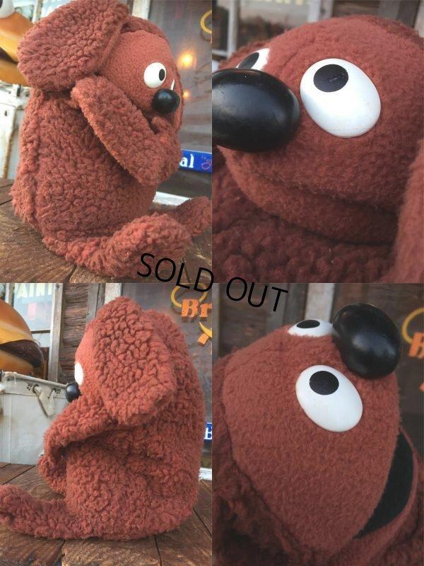 画像2: 70s Vintage Muppet Show Rowlf Hand Puppet Doll (AL733)