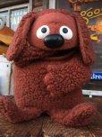 画像1: 70s Vintage Muppet Show Rowlf Hand Puppet Doll (AL733) (1)