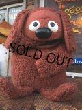 70s Vintage Muppet Show Rowlf Hand Puppet Doll (AL733)