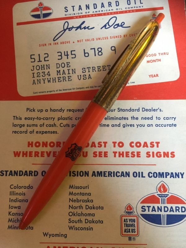 画像1: Vintage Auto Gas Oil Advertising Pen Phillips 66 (AL9180)