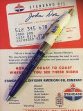 Vintage Auto Gas Oil Advertising Pen NAPA (AL9165)