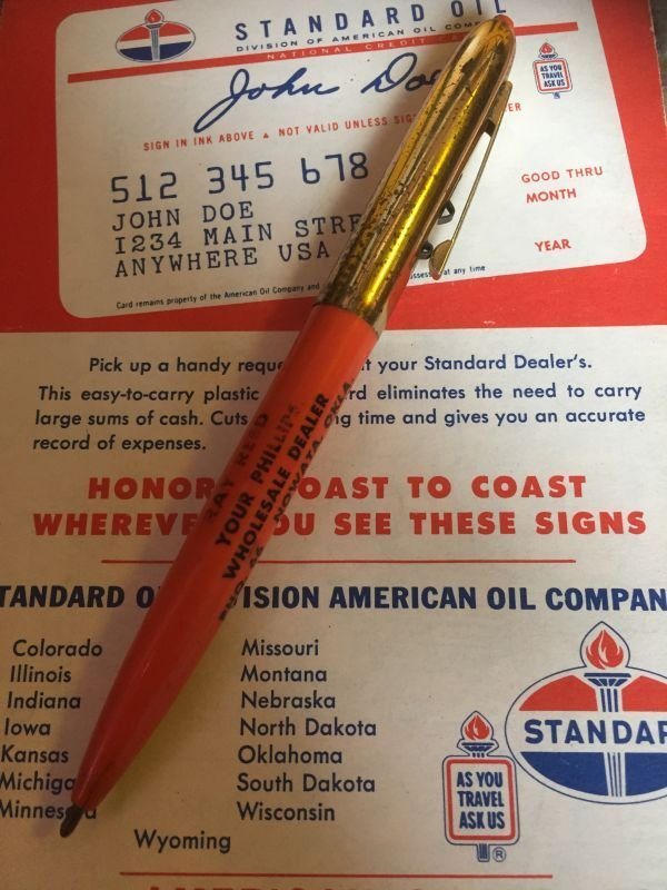 画像2: Vintage Auto Gas Oil Advertising Pen Phillips 66 (AL9180)