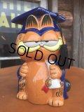 80s Vintage Garfield Ceramic Bank (AL746)