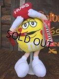 Vintage M&M's Plush Doll Hugs Yellow (AL760)