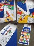 画像2: Vintage Calendar Disney Mickey & Friends in 1988 (AL773) (2)