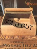 Vintage Santa Fe Cigers  Store Display Wood Box (AL737)