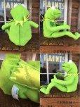 画像2: SALE 90s Vintage Muppets Kermit the Frog 30th Talking Doll (AL793) (2)