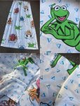 画像3: 90s Vintage Muppets Kermit the Frog Curtain (AL798) (3)