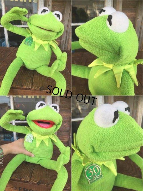 画像3: SALE 90s Vintage Muppets Kermit the Frog 30th Talking Doll (AL793)