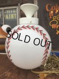 Vintage Baseball Milk Glass Swag Lamp (AL804)