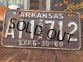 60s Vintage Lisence Plate A11 TRUCK 712 (AL863)