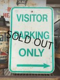 "Vintage Parkig Sign ""Visitor Parking Only"" (AL878)"