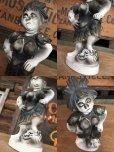 画像3: Vintage Weird People Ceramic Statue (AL910) (3)