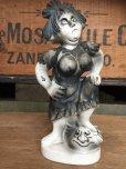 画像1: Vintage Weird People Ceramic Statue (AL910) (1)