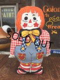 70s Vintage Pillow Doll Raggedy Andy (AL924)