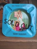 50s Vintage Pin-Up Girl Ashtray LAFAYETTE MOTEL (AL940)
