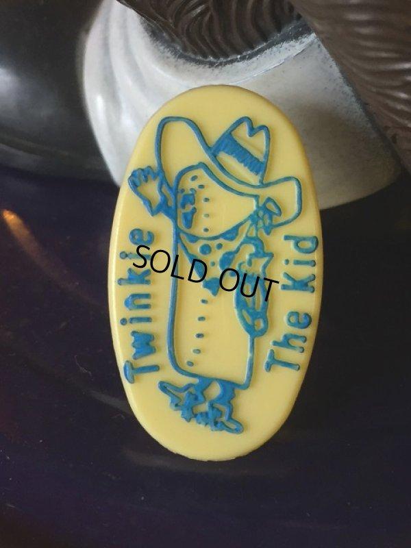 画像1: 70s Vintage Twinkie the Kid Promo Ring Blue (AL943)