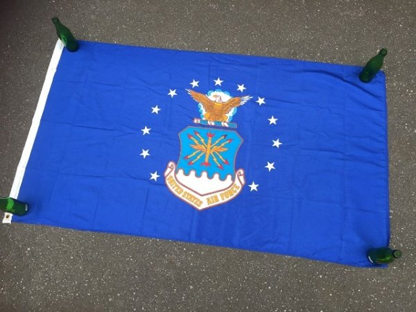 画像1: Vintage United States Air Force Flag Banner (AL953)
