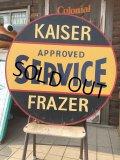 """Vintage Kaiser Frazer Service 30"""" Sign (AL953)"""