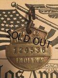 40s Vintage Dog License Tag #124536 (AL4041)