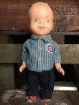 画像1: Vintage Lion Uniform Doll SOHIO Service Station Man(AL998) (1)