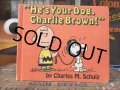 Vintage Book Snoopy He's Your Dog, Charlie Brown! (AL5392)