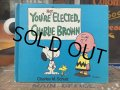 Vintage Book Snoopy You'RE NOT ELECTED Charlie Brown (AL5390)
