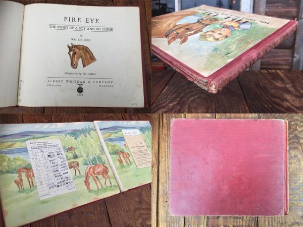 画像3: 40s Vintage Book FIRE EYE (AL6013)