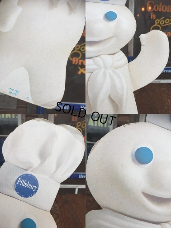 画像2: 80s Vintage Pillsbury Doughboy Card Bord Sign (AL7113)